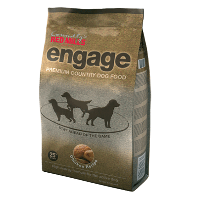 rich in oils dog food by connolly's red mills from the engage range