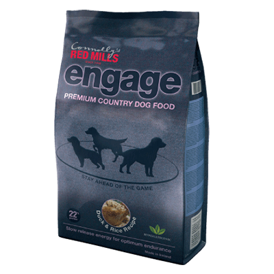 hypoallergenic engage range dog food by red mills