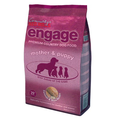 engage mother and puppy dog food for dog pregnancy