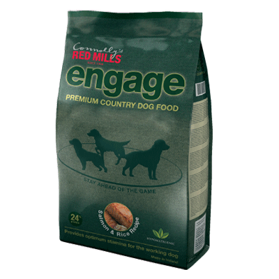 engage salmon working dog food by red mills