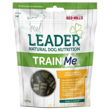 connolly's red mills leader brand natural dog nutrition training reward treats with chicken