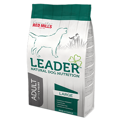 leader range by connolly's red mills natural dog nutrition dog food with chicken and rice