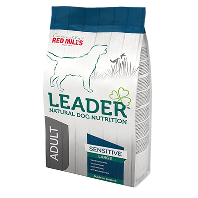 leader sensitive for dogs with sensitive tummies natural dog nutrition dog food by connolly's red mills