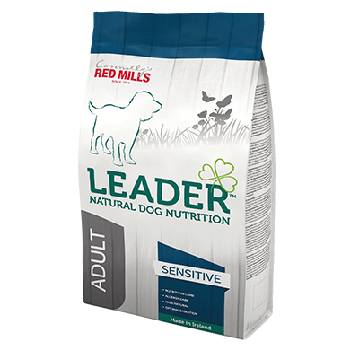 leader natural dog nutrition dog food by connolly's red mills slimline range for medium size dogs with food intolerance
