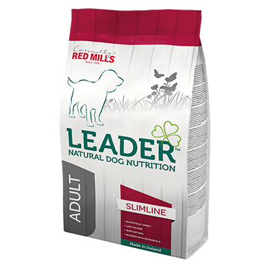 low calorie leader adult slimline for medium size dogs natural dog nutrition dog food that fights obesity