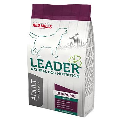 leader adult supreme large breed natural dog nutrition dog food with high quality ingredients