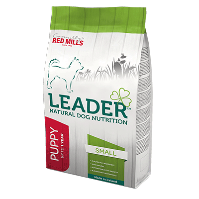 connolly's red mills leader range natural dog food for small breed puppies