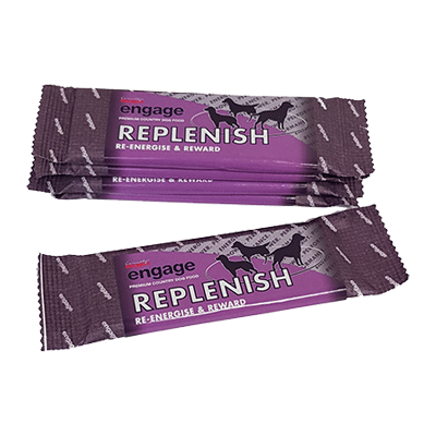 engage replenish protein power bar for dogs and working dogs
